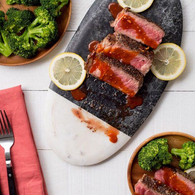Seared Ribeye Steak Image