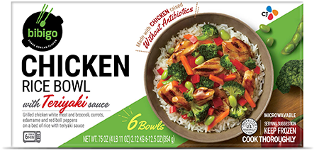 Rice Bowl Teriyaki Chicken 6-pack
