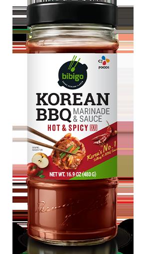 Korean BBQ Sauce & Marinade Hot & Spicy