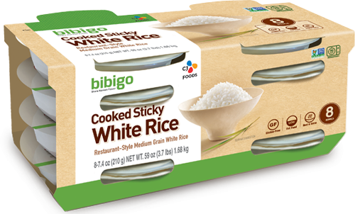 Cooked Sticky White Rice