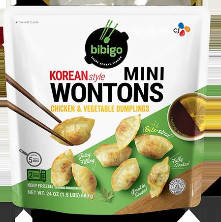 Mini Wontons Chicken & Vegetable 24oz