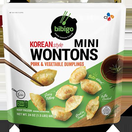 Mini Wontons Pork & Vegetable 24oz