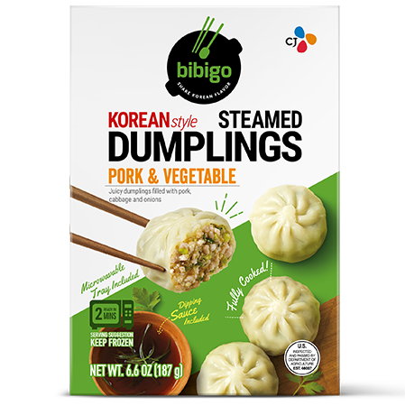Steamed Dumplings Pork & Vegetable 6.6oz