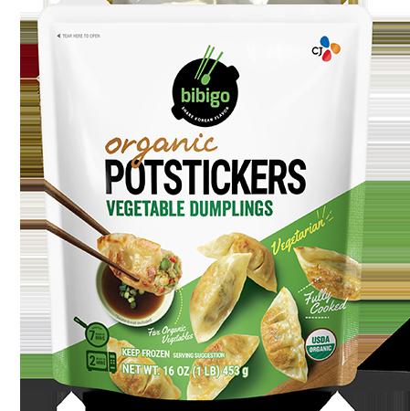 Organic Potstickers Vegetable 16oz