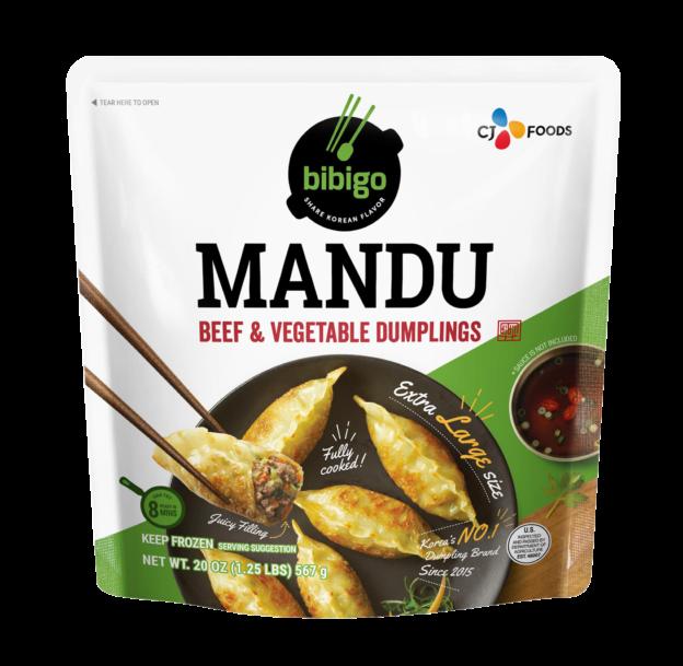 Mandu Beef & Vegetable 20oz