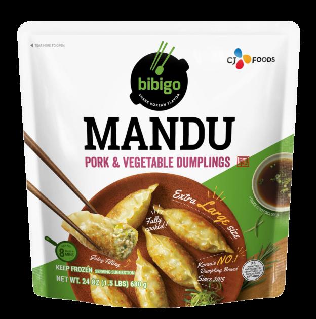 Mandu Pork & Vegetable