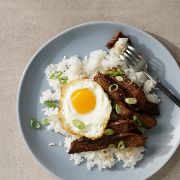 Korean-Style Steak and Eggs