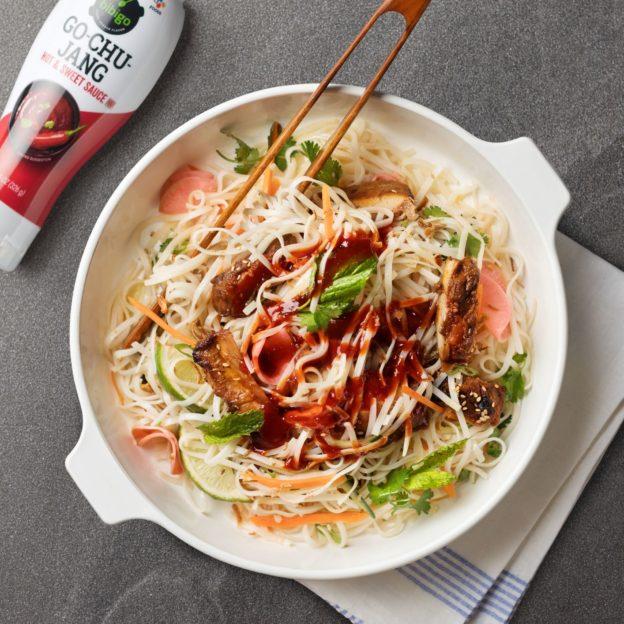 Go-Chu-Jang Chicken Noodle Salad