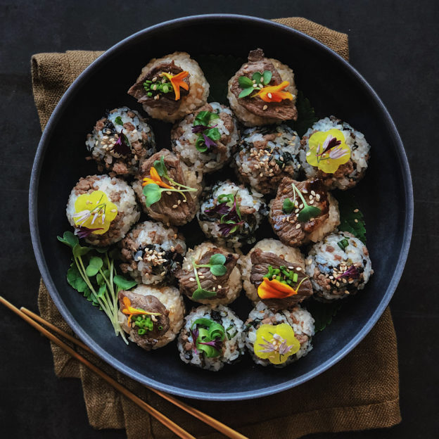 Bulgogi Rice Balls