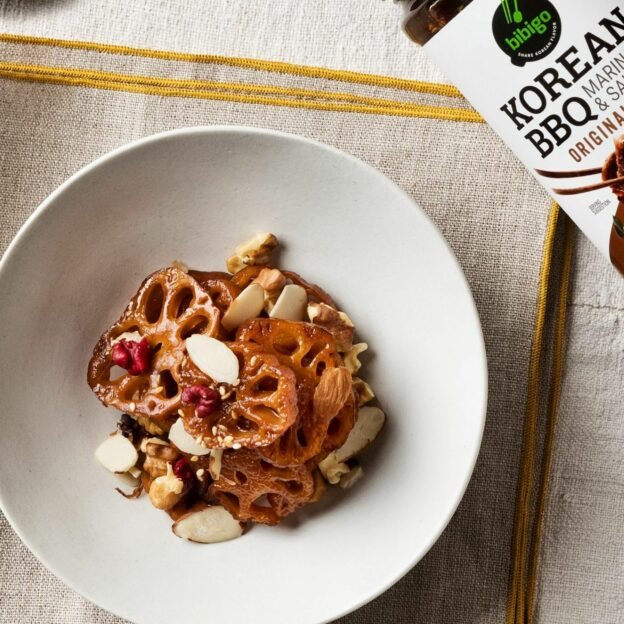 Braised Lotus Root with Nuts
