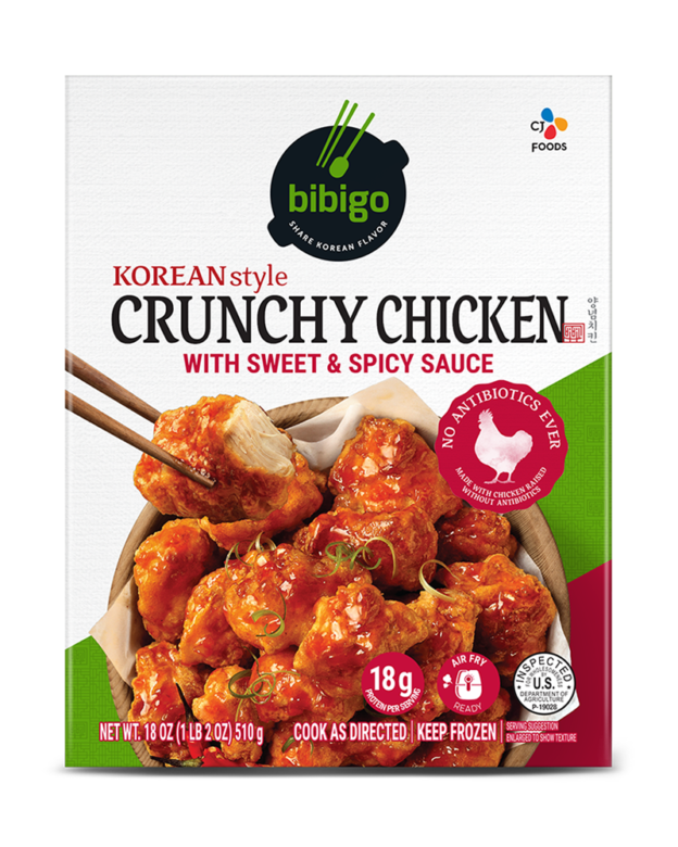 Crunchy Chicken Sweet & Spicy