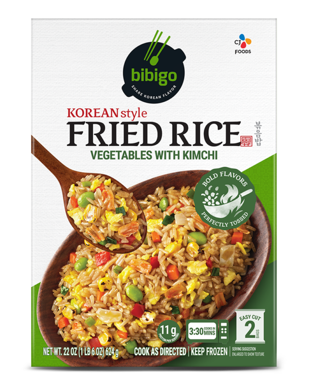 Fried Rice Vegetables with Kimchi